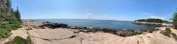 view at Acadia National Park