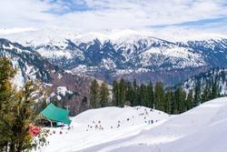 View at Manali, Himachal Pradesh, India.