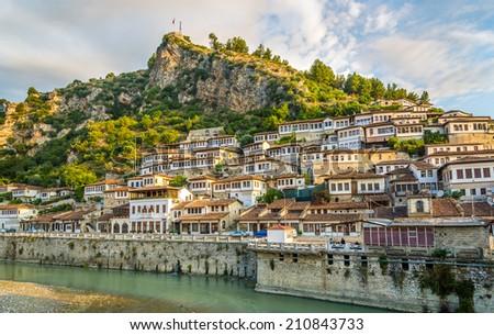 View at old city of Berat - Albania Stock photo ©
