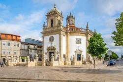 View at the Church Bom Jesus da Cruz of Barcelos in Portugal