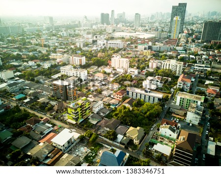 View City of Bangkok's lardprao district in the residential district #1383346751