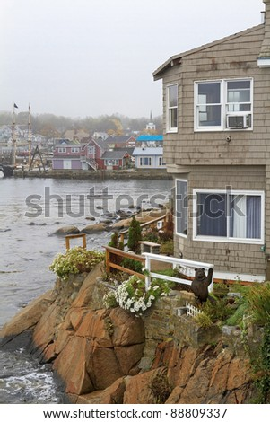 View from a Cliff - Rockport, Massachusetts, USA