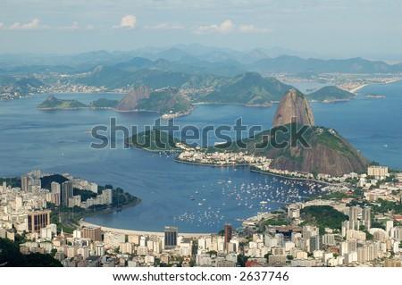 View from Botafogo Bay, Rio de janeiro, RJ