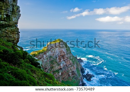 View from Cape of Good Hope - South Africa