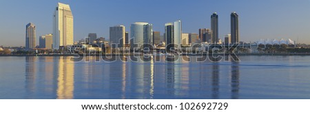 View from Coronado, San Diego, California