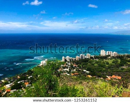 View from Diamond Head #1253261152