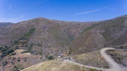 View from Drave Village aka Aldea de Drave, in Portugal