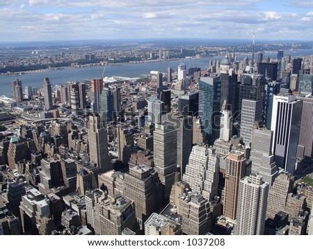view from empire state #1037208