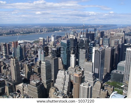 view from empire state #1037220