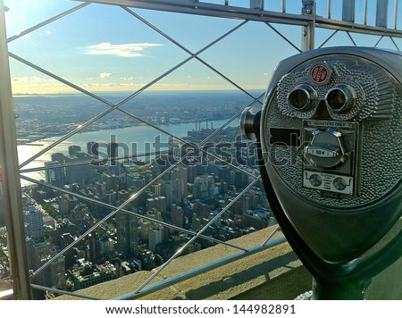 View from Empire State Building #144982891