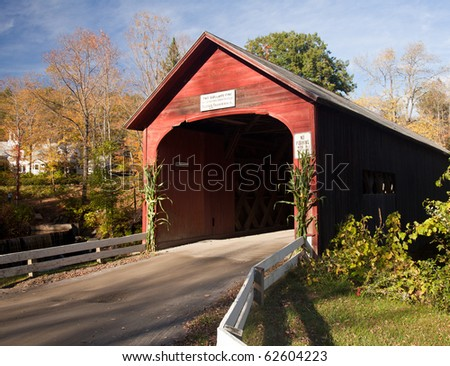 View from Green River Covered Bridge