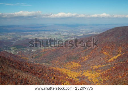 View from Hawksbill Gap - Shenandoah National Park, Virginia