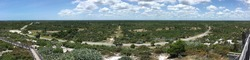 View from Hobe Mountain in Jonathan Dickinson State Park in Florida