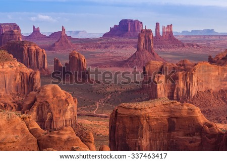 Shutterstock View from Hunts Mesa, Monument Valley, Arizona