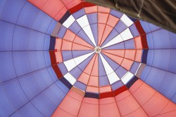 View From Inside of a Hot Air Balloon