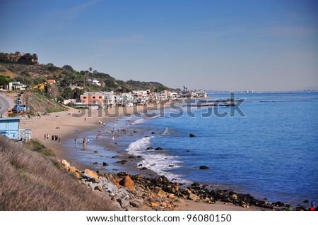 view from Malibu Pier, California, USA