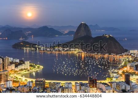 Shutterstock View from Mirante Dona Marta in Parque Nacional da Tijuca, Rio de Janeiro, RJ