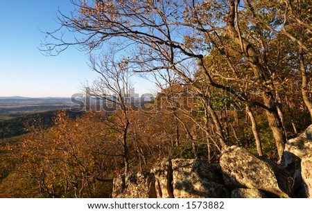 View from Mt.Sugarloaf, Maryland