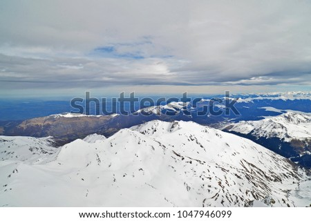 View from Pic du Midi, French Pyrenees