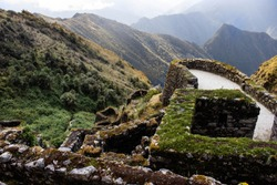 View from Sayacmarca on the Inka Trail, Peru