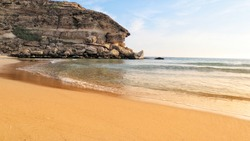 View from Seashore near Salalah Oman