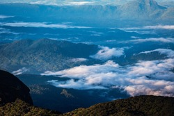 View from the Adam's Peak
