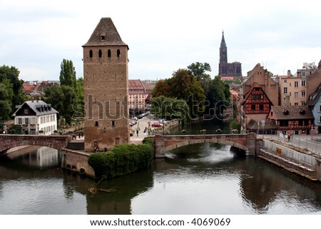 View from the Barrage Vauban, Strasbourg, France