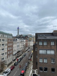 View from the building at Oxford Circus