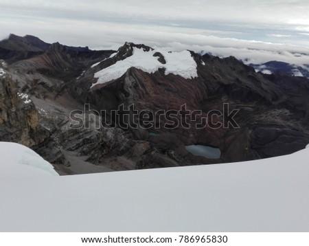 Shutterstock View from the peak of Ritacuba Blanco, Colombia