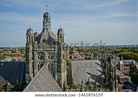 View from the rooftops of the Stevenskerk, Nijmegen, the Netherlands #1465876559