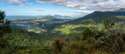 View from the top of the Glacier Rock hike, Barron Gorge National Park, Cairns, Queensland, Australia