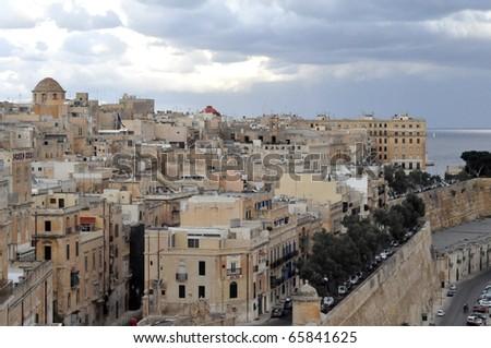 view in Malta