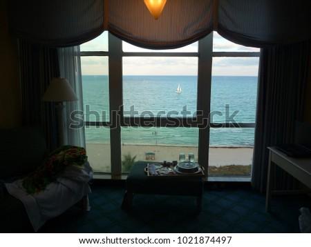 view in miami beach  florida ...
