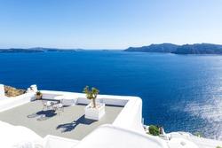 View in Oia, Santorini, Greece