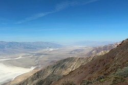 View into Deathvalley from Dante's View