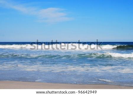 view ocean - stock photo