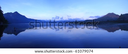 View of a Lake at Bali Indonesia