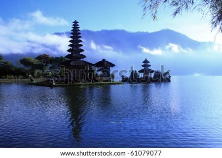 View of a Lake at Bali Indonesia