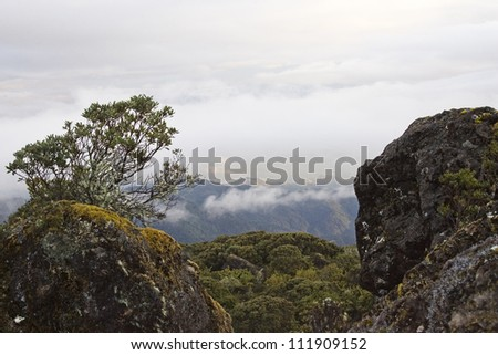 View of a mountain, Costa Rica
