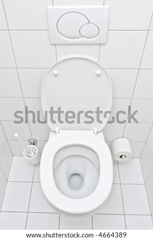 View of a toilet