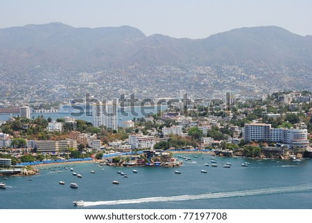 View of Acapulco, Mexico