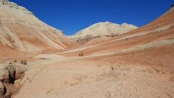 View of Aktau Mountains, Kazakhstan