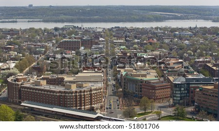 View of Alexandria, Virginia,  near Washington DC