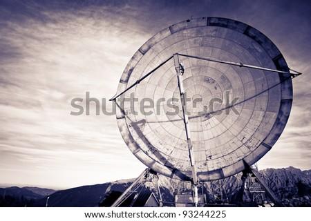 view of antenna communication