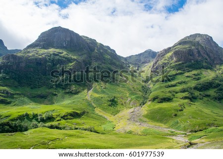 View of Arthur's seat #601977539