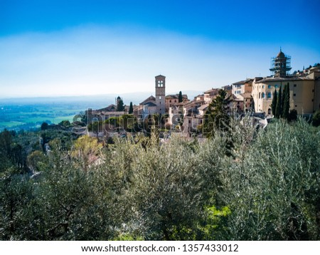 View of Assisi, Italy #1357433012