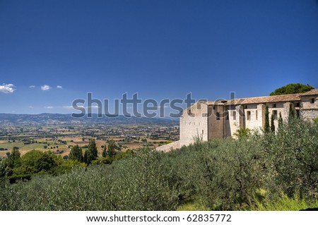 View of Assisi. Umbria.