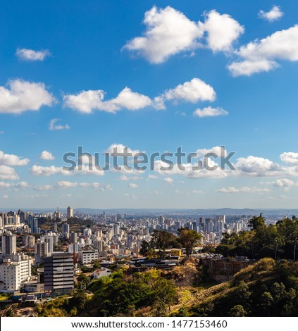 View of Belo Horizonte City Belo Horizonte at morning. Minas Gerais/Brazil. #1477153460