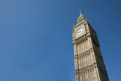 View of Bigben in London England