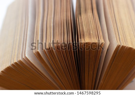 View of book pages. Open the pages of the book #1467598295